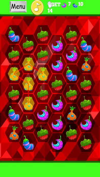 幻想联合应用的水果 - 美味的错觉