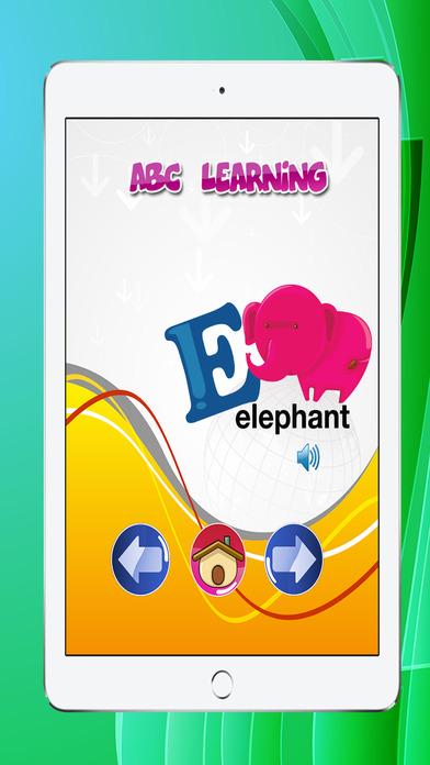 ABC字母動物的教育為孩子們免費