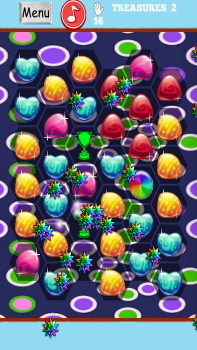 糖果美食瑰宝 - 梦幻般的国王制造者