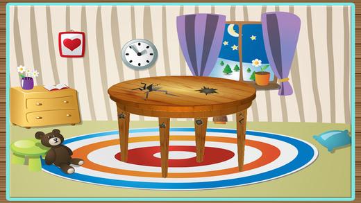 儿童家具修理厂 - 修复在这个木匠游戏小孩子的房子家具