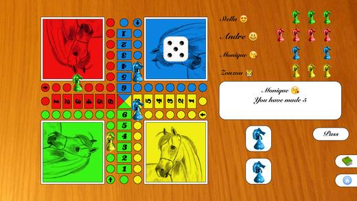 飞行棋 - 赛马游戏