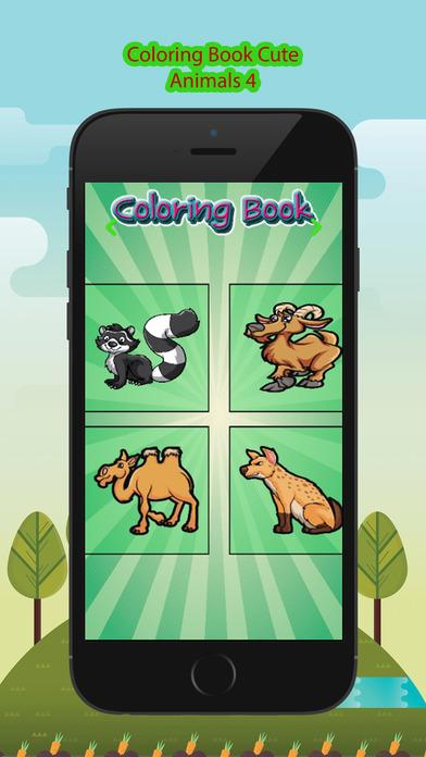 图画书 - 绘画七彩虹为孩子们免费游戏 NewAllAndCuteAnimals