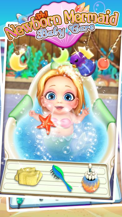美人鱼妇产科医生 - 新生婴儿