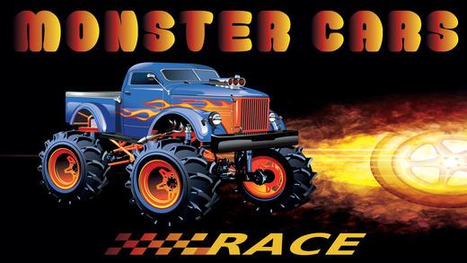怪物汽车赛车游戏