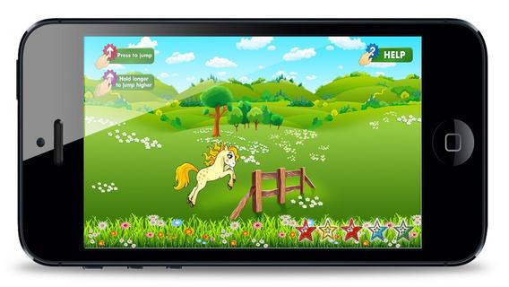 小马漂亮的小游戏 - 我的乐趣可爱的跳版