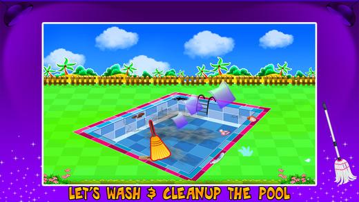 游泳池修理&清理 - 清洁游戏