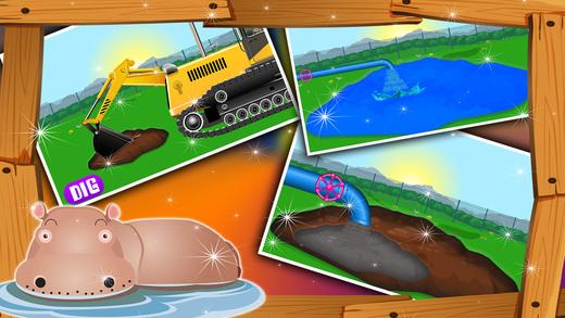 建立一个动物园 - 为孩子们建造游戏