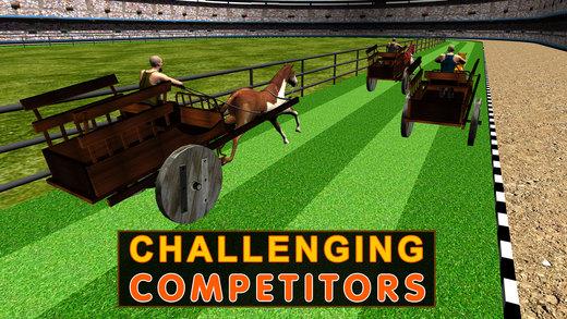 马拉大车的赛车模拟器 - 真实挑战性的赛道上比赛车