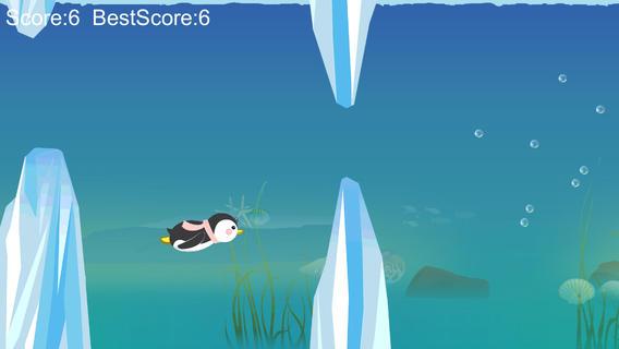 企鹅勇闯冰山
