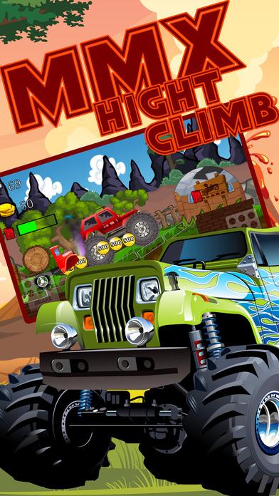 4 X 4 Mmx 怪物卡车爬山赛车  免费赛车游戏 狂飙越野 登山赛车 II