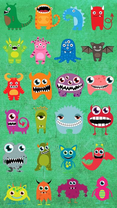 怪兽彩色貼紙 - 将怪兽加至您的照片,更改它的颜色