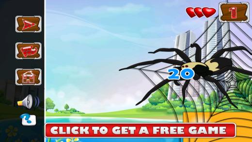 怪物蜘蛛咬伤 - 僵尸食脑者攻击 免费
