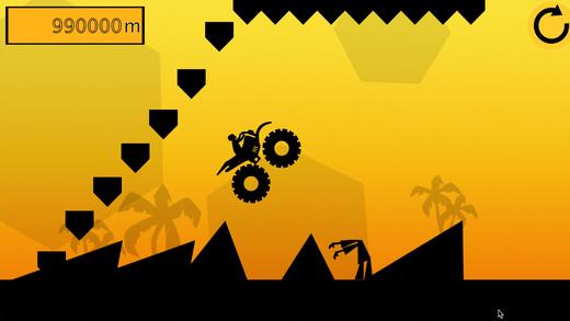 黑暗的山赛车-怪物卡车赛车游戏