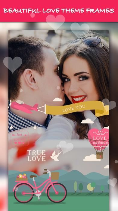 爱相框应用程序, 爱照片编辑器应用程序
