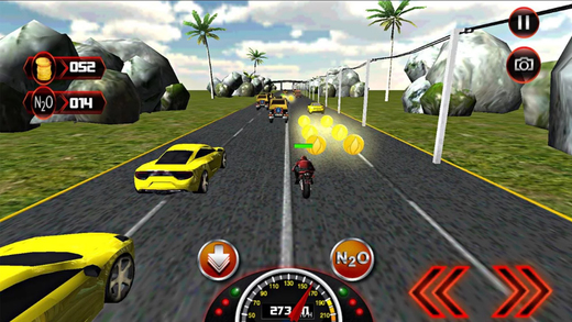 摩托车死亡竞赛骑士:飙车交通