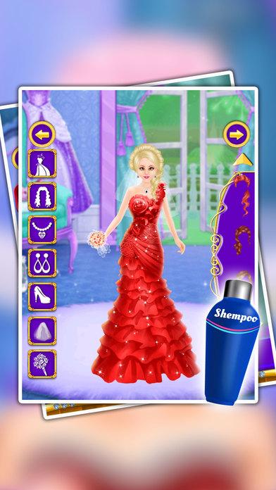 公主婚礼沙龙 - 公主化妆,化妆与服饰博弈