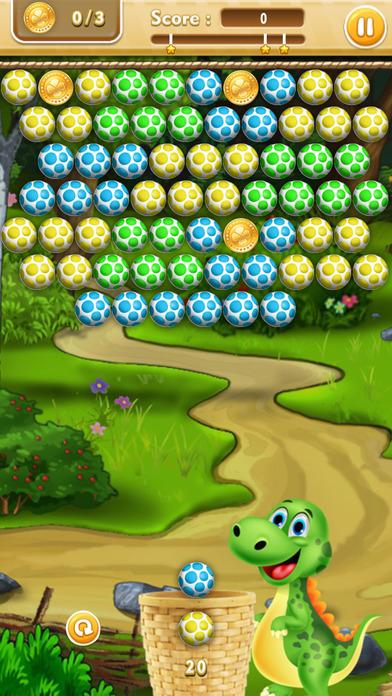 射击恐龙蛋 - 射球