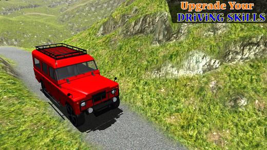 越野车圈的比赛 - 赛车的冒险乘坐与四轮驱动的赛车模拟游戏