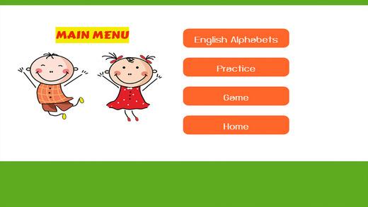 英语学习对于孩子们:英文字母单位01