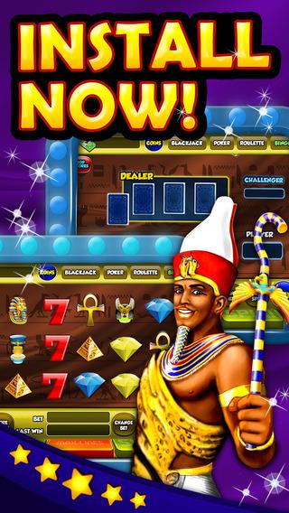 王牌老虎机游戏法老的乐趣 (Ace Slots Games Of New Pharaoh's Fun)