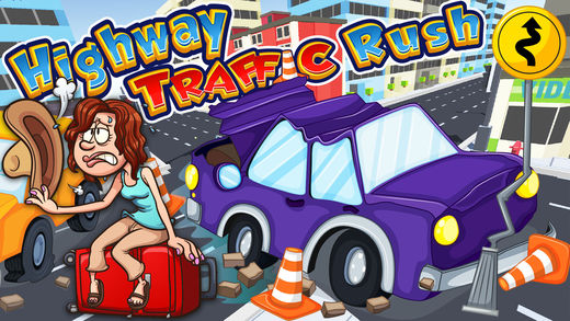 Highway Traffic Rush - 汽车游戏方向盘 gt4赛车游戏