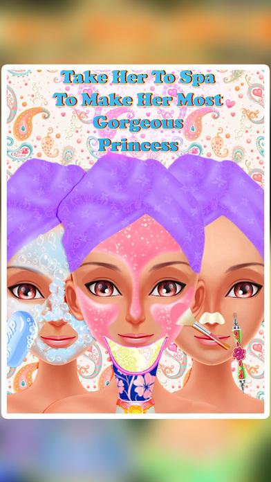 印度传统打扮,化妆和沙龙游戏