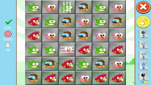 鸟类的冲突 - 羽毛计数