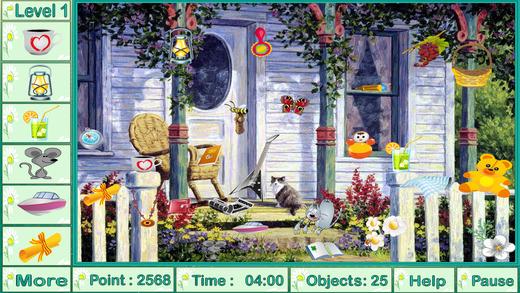 雄伟壮观的花园游戏隐藏的对象