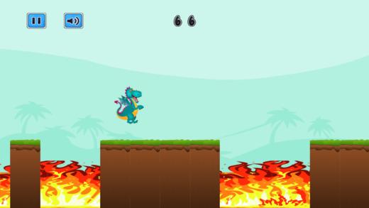 龙跳线故事 - 强有力的野兽运行任务 免费