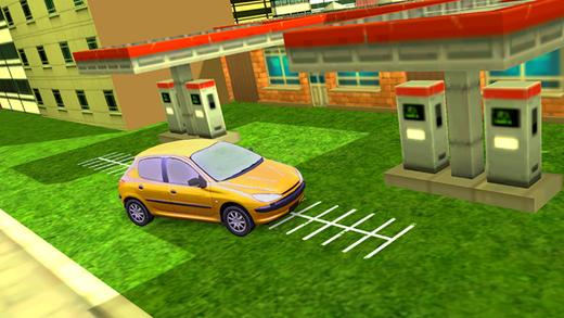 电动汽车充电站 - 停车游戏