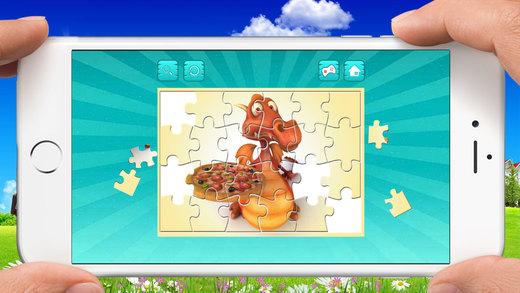 比薩 拼圖 - 拖放 拼圖 對於 孩子們