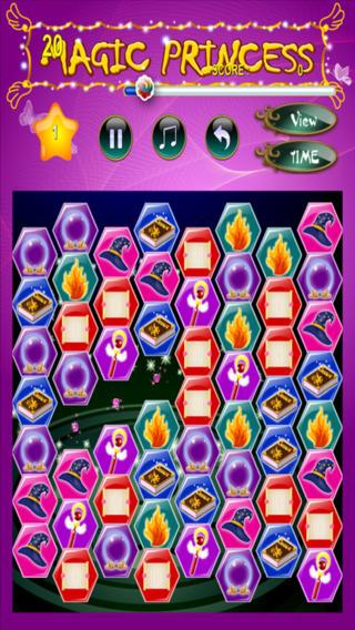秘密公主大征服——配对3块魔法糖果,由女孩专属游戏公司出品的免费游戏 (Secret Princess Crush - Match 3 Magic Candy Treats Free Game by Games For Girls, LLC)
