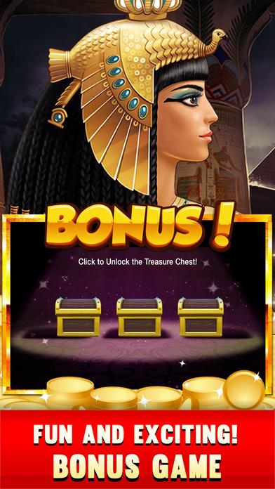 老虎机 Cleopatra Golden Pharaoh's - 最好的免费 老虎机 维加斯老虎机