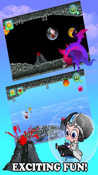 泡沫男孩 PRO — — 別碰紅色熔岩 ! - Bubble Boy PRO - Don't Touch Red Lava!
