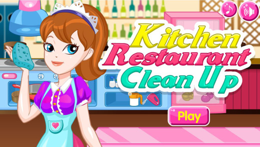 厨房餐厅清理