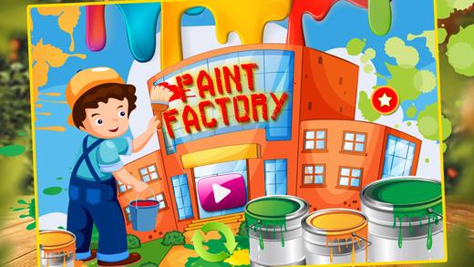 油漆厂 - 着色艺术和创意乐趣