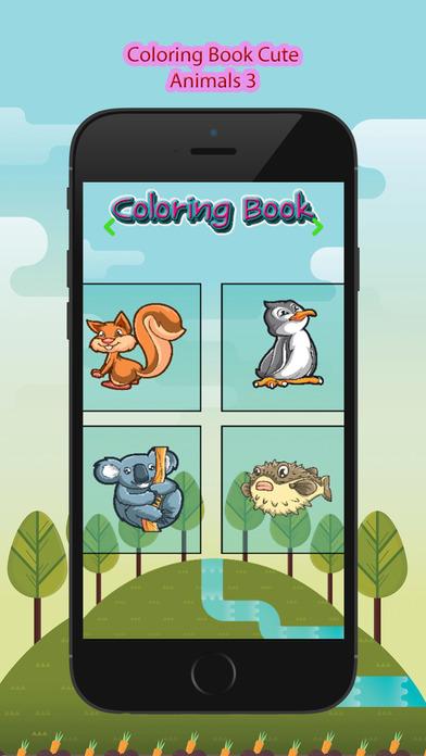 新的儿童图画书滑稽可爱动物涂料