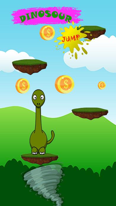 恐龙跳跃攀爬避障游戏免费为孩子