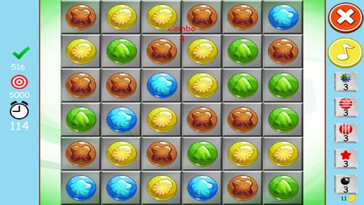 雅致甜美流行爆 - 最好的无糖火柴点收集游戏
