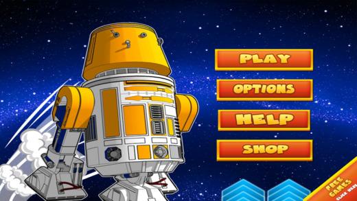空间机器人冒险 - 超级德罗伊德快球 免费