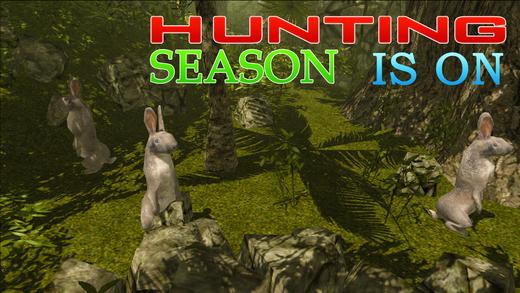 野兔子猎人模拟器 - 拍摄丛林的动物在这个狙击模拟游戏