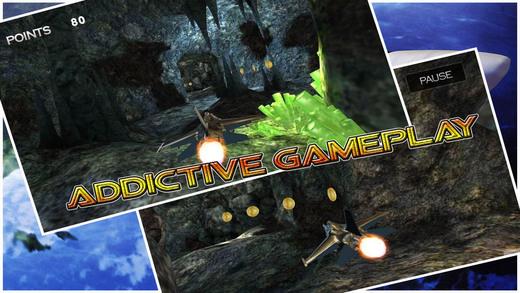 喷气式战斗机赛车 - 神奇洞穴亚军:全免费赛车游戏
