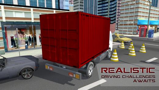 大型货车驾驶学校 - 驾驶货车停车场及模拟器游戏