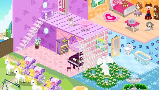 设计可爱娃娃屋-公主房间设计
