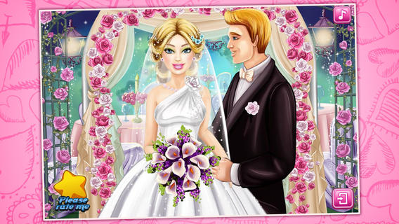公主婚礼装扮