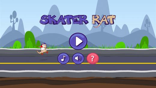 滑板鼠跳跃比赛
