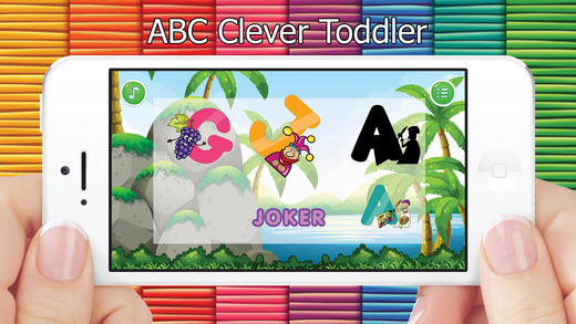 ABC聪明的字母表的小孩工具
