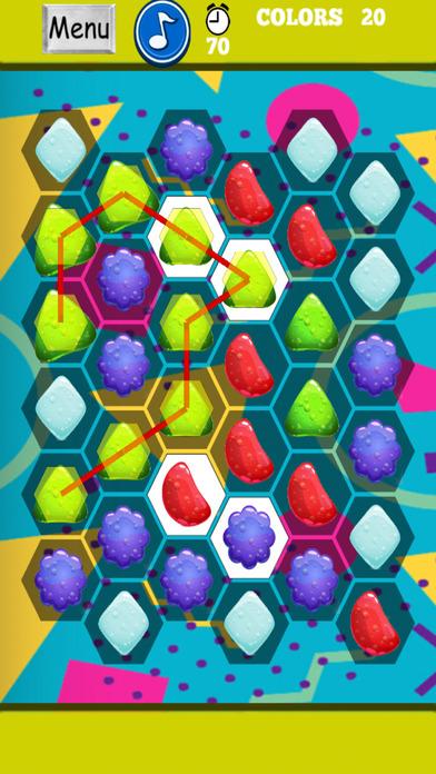 有趣的果酱泡沫 - 砖部分和幸福生活