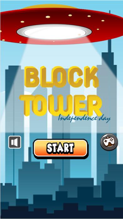 块塔堆积在独立日:打造无尽的堆叠游戏中最高的塔