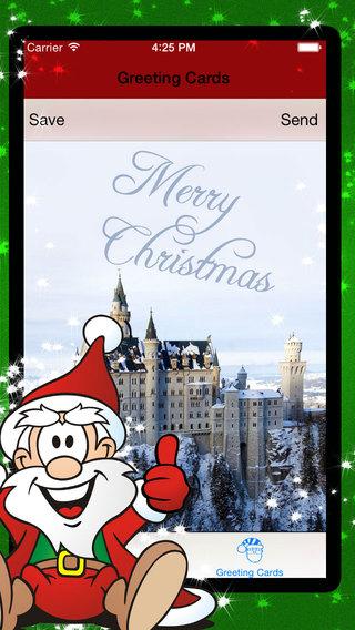 圣诞贺卡 - 圣诞卡